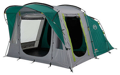 Coleman Oak Canyon 4 Person Family Tent Camping Festival Touring
