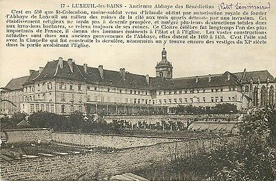 luxeuil les bains ancienne abbaye