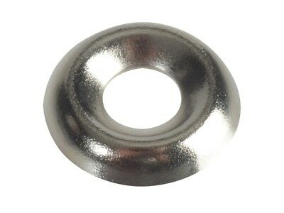 Screw Cup Washers, Nickle Plated, Forge Pack