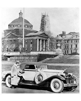 1930 Packard DeLuxe Eight Model 745 Derham Coupe ORIGINAL Factory Photo oub3147