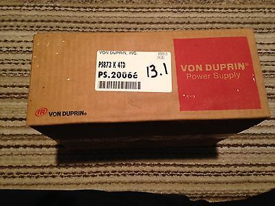 Von Duprin PS873 4TD Class 2 Power Supply With Enclosure Box With Lock NEW