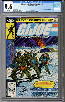 G.I. Joe, A Real American Hero #2  CGC 9.6