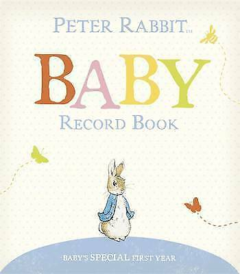 Peter Rabbit Baby Record Book by Penguin Books Ltd (Hardback, 2014)