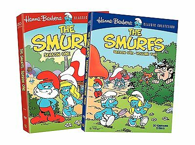 The Smurfs: Complete First Season 1 - Volume 1 & 2, (DVD, 4-Disc set) - New!!