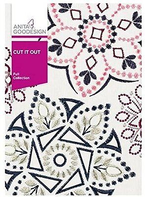Anita Goodesign CUT IT OUT Embroidery Design Collection 351AGHD - NEW SEALED