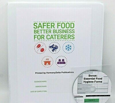 Updated 2018 Safer Food Better Business SFBB Caterers Pack & 13 Month Diary