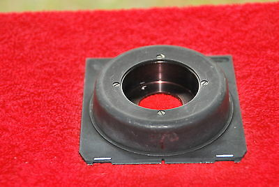 Linhof Recessed Lens Board With Adapter - Minty!