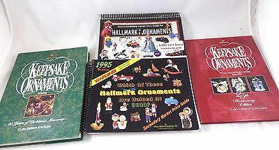 4 Hallmark Christmas Collectible Books Info & Price Guides Ornaments