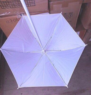 New Lot of 12 Theatrical Dance Costume White Parasols stage prop southernbelle