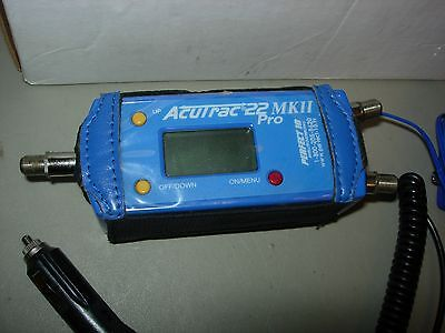 Acutrak 22 MKII Pro Satellite Signal Tracking Alignment Meter W/ Chargers