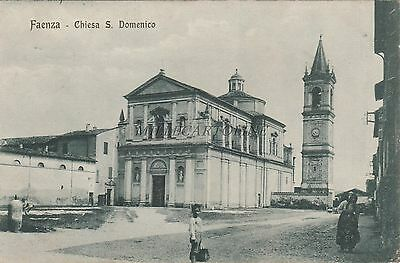 * FAENZA - Chiesa S.Domenico 1919 WWI UK Army Post Office S.70 Censor