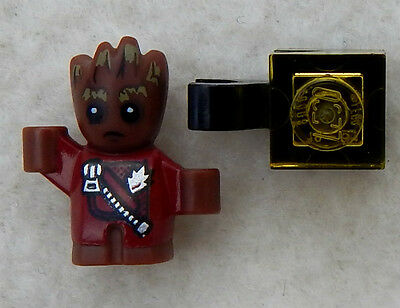 LEGO Baby Groot Red Outfit with Zipper Minifigure 76080 Guardians of the Galaxy