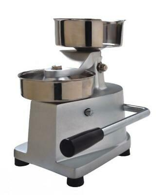 100Mm Manual Hamburger Patty Press Hand Operated Round Meatball Shaping Machine