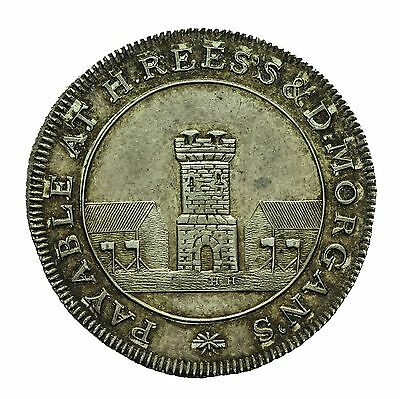 Wales Neath Silver Shilling Token 1811