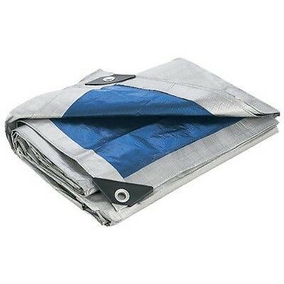 All Purpose Water Resistant Tarp Weather Tear & UV Screen Rain Cover Silver