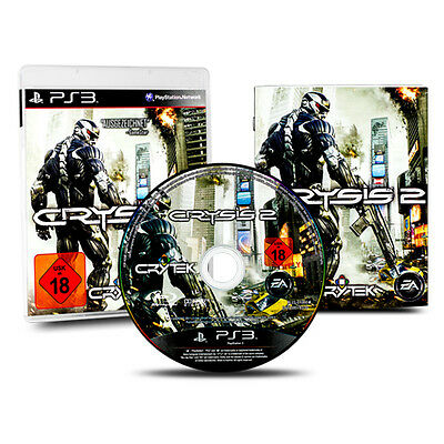 PS3 - PlayStation 3 Spiel CRYSIS 2 (USK 18) in OVP mit Anleitung