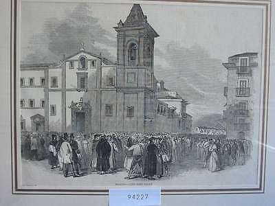 94227-Italien-Italy-Italia-Palermo Sizilien-T Holzstich-Wood engraving