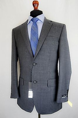 Mens Pierre Cardin Grey Tailored Fit Suit 36 38 40 42 44 46 48 50 52 EZ294