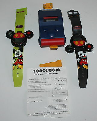 Gadget Topolino Walt Disney - Topologio lotto di 3 pezzi differenti