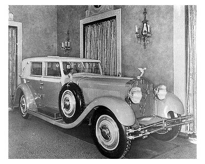 1929 Isotta Fraschini ORIGINAL Factory Photo oub3640