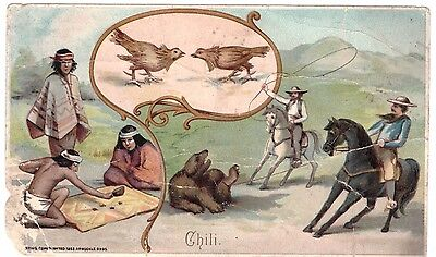 Chili Chile VTC Victorian Trade Card Arbuckles Coffee # 26 T