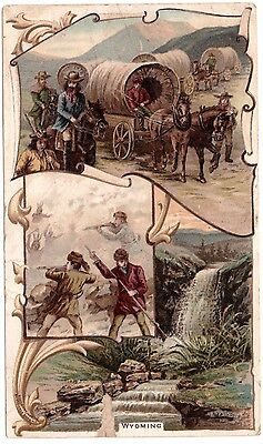 Wyoming VTC Victorian Trade Card Arbuckles Coffee # 43 T