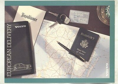 1989 Volvo European Delivery Program Brochure my7241