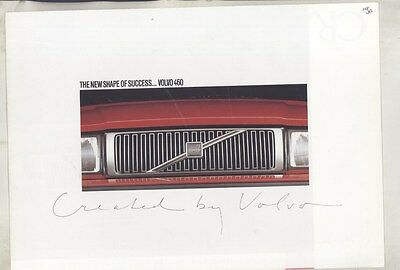 1990 Volvo 460GL 460GLE 460 Turbo Brochure Poster my7246