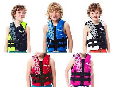 Jobe Neo Vest Youth Childrens Buoyancy Aid Jetski Wakeboard Waterski