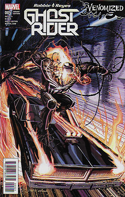 Marvel Ghost Rider comic issue 5 Limited variant Venomized
