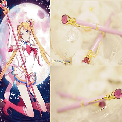 US SHIP Sailor Moon 20th Anniversary Fountain Pen Handmade Limit Anime Gifts