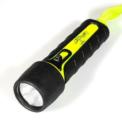 Pro Diving Hiking Flashlight Bright LED Submarine Dive Light Waterproof Torches