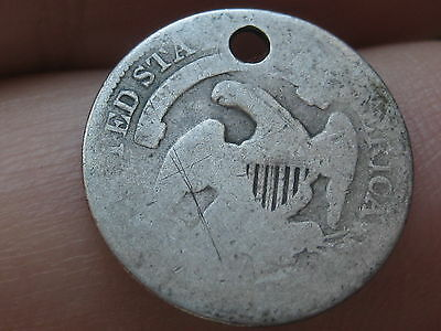 1835 Capped Bust Half Dime- 90% Silver- Small Date