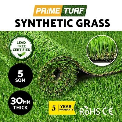 5SQM Synthetic Turf Artificial Grass Plastic Plant Fake Lawn Flooring 30mm