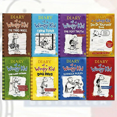 Diary of a wimpy kid collection 11 books set pack 1 11 by jeff jeff kinney collection diary of a wimpy kid cabin feverthird wheel8 solutioingenieria Choice Image