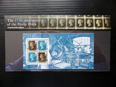 GB 175th Anniversary of the Penny Black Presentation Pack No 510 FP8059