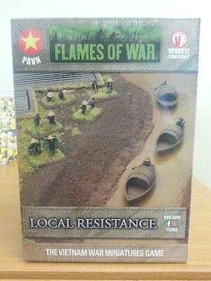 Flames of War Model Kit - Local Resistance - 1:100 Scale - VPABX12 - New