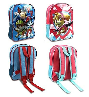 Paw Patrol Skye & Chase Backpack Kids Childrens School Travel Rucksack Bag 56374