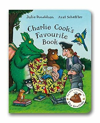 Charlie Cook's Favourite Book, Donaldson, Julia, New condition, Book