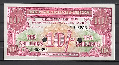 British Armed Forces   -   10 Shillings   -   M28b    -    (1956)