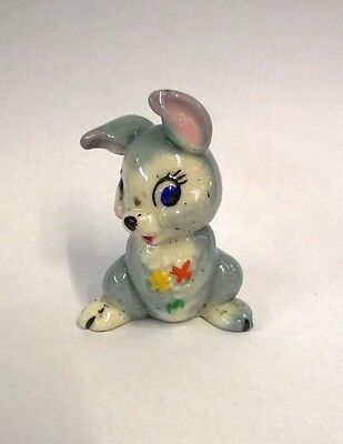 Walt Disney  Rabbit Thumper Wade Figure From Bambi Film 1950's The hat Box Set