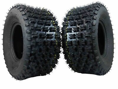 New MASSFX ATV Sports Rear Tires 20x10-9 2 set 4ply 20x10x9 20x10/9