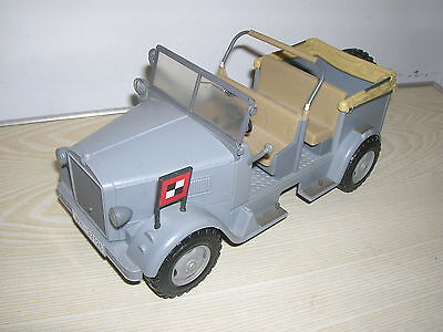 "INDIANA JONES HASBRO - Deutscher Kübelwagen ""Horch"" German Troop Staff car WW2"