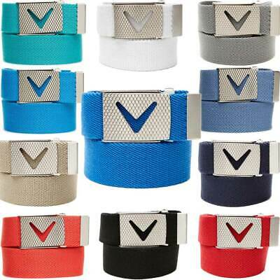 Callaway Webbed Chev Belt – One Size Fits All – Multiple Colors