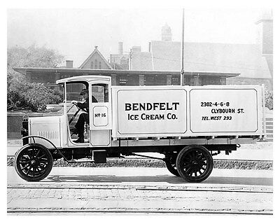 1917 Nash Truck Model 3017 ORIGINAL Linen-Backed Factory Photo oub4122