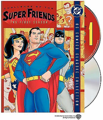 Challenge of the Super Friends: Complete First Season 1 (DVD, 2-Disc set) - New!