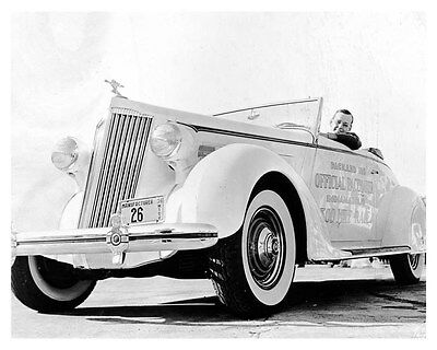 1936 Packard 120 Indy 500 Pace Car ORIGINAL Factory Photo oub4260