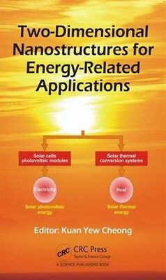 Twodimensional Nanostructures For Energy, Cheong, Kuan Yew, 9781498732932