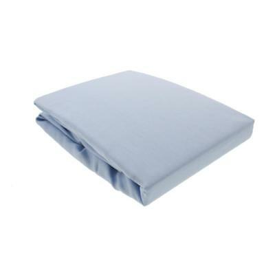Kids Line Blue Sateen Baby Boy Nursery Crib Sheet Bedding BHFO 2160