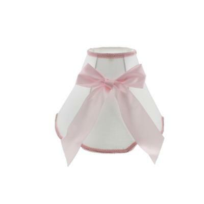 Koala Baby 4513 Pink Ribbon Baby Girl Nursery Lamp Shade BHFO